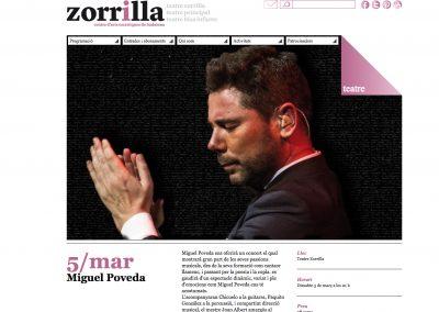 Concierto en el Teatro Zorrilla, Badalona