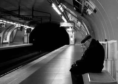 A Nacho. Metro de Madrid