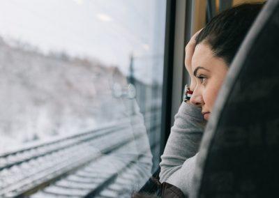 La chica del tren, Noruega
