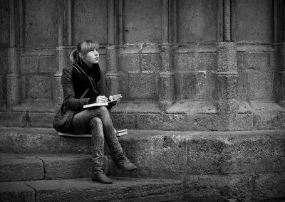 Diario de viaje de una turista rusa, Barcelona