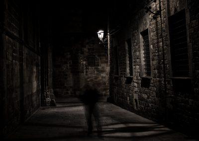 El fantasma del barrio gotico, Barcelona