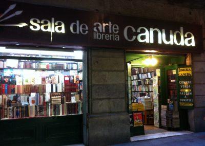 Lugares desaparecidos, Libreria Canuda