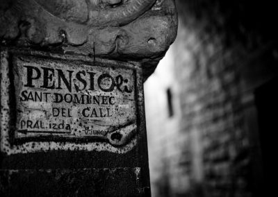 Pensió Sant Domènec, El Call