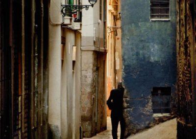 Huyendo de la calma, Barcelona