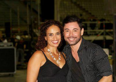 Con Miguel Poveda