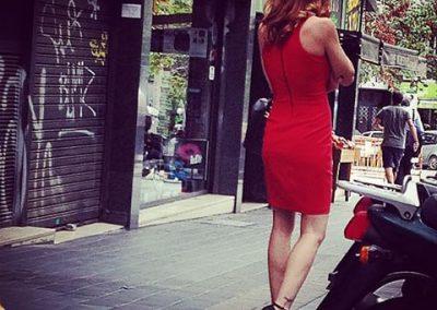Caperucita con tacones, Barcelona