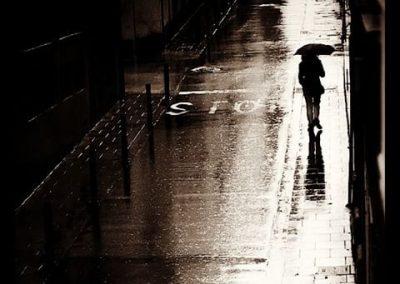 Hoy lluevo, Barcelona