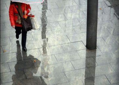 Lluvia en color, Barcelona