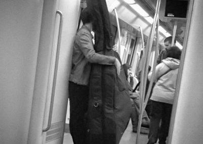 Abrazos. Historias del Metro