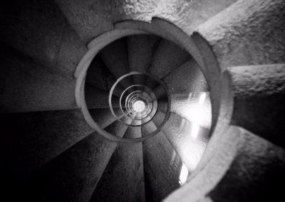 Espiral, Sagrada Familia