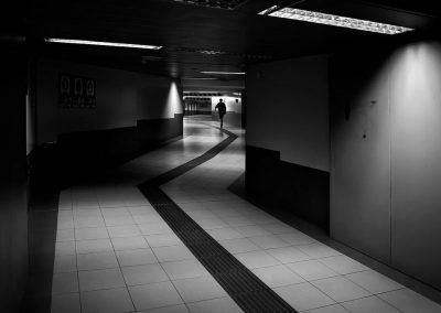 Siguiendo la linea. Metro de Madrid
