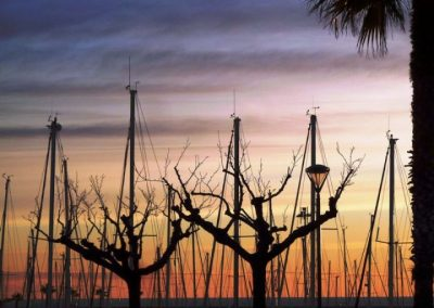 Amanecer de Invierno, Port Vell