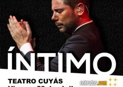 Concierto Miguel Poveda Canarias (2016)