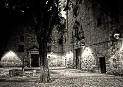 Cicatrices. Plaça Sant Felip Neri