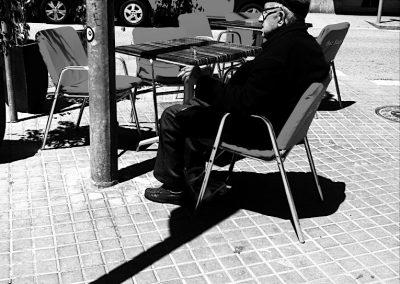 Fumando espero, Barcelona