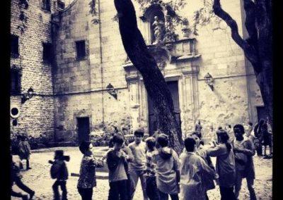 La hora del recreo, Plaça Sant Felip Neri