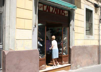 Lugares desaparecidos, La centenaria zapateria de mi barrio. Poble Sec