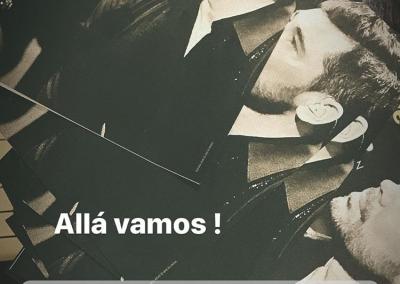 Programa del concierto de Miguel Poveda en Lisboa.