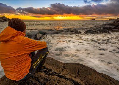 La soledad del acantilado, Noruega