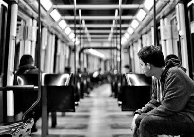 Amores adolescentes. Historias del Metro