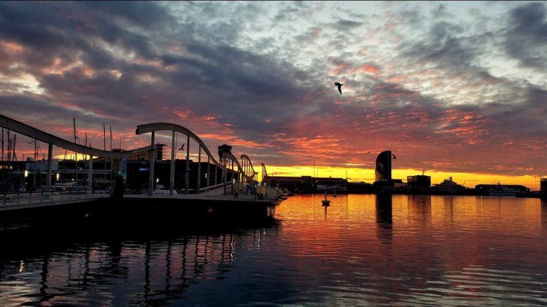 Nunca verás un amanecer tan hermoso como Ella