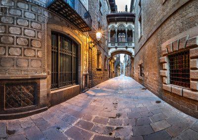 Barri Gotic, Carrer del Bisbe